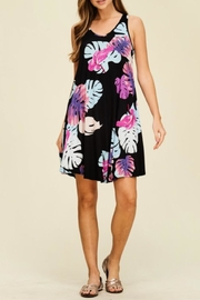 Miss Darlin Floral Print Dress - Product Mini Image