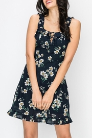 Favlux Floral Print Dress - Product Mini Image