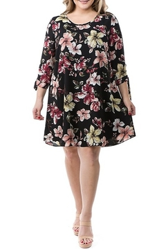 Spin USA Floral Print Dress - Product List Image