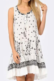Apparel Love Floral Print Dress with Ruffles - Product Mini Image
