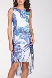Frank Lyman Floral Print Hi Low Cruise Dress - Product Mini Image