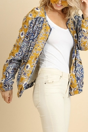 Umgee USA Floral Print Jacket - Front full body