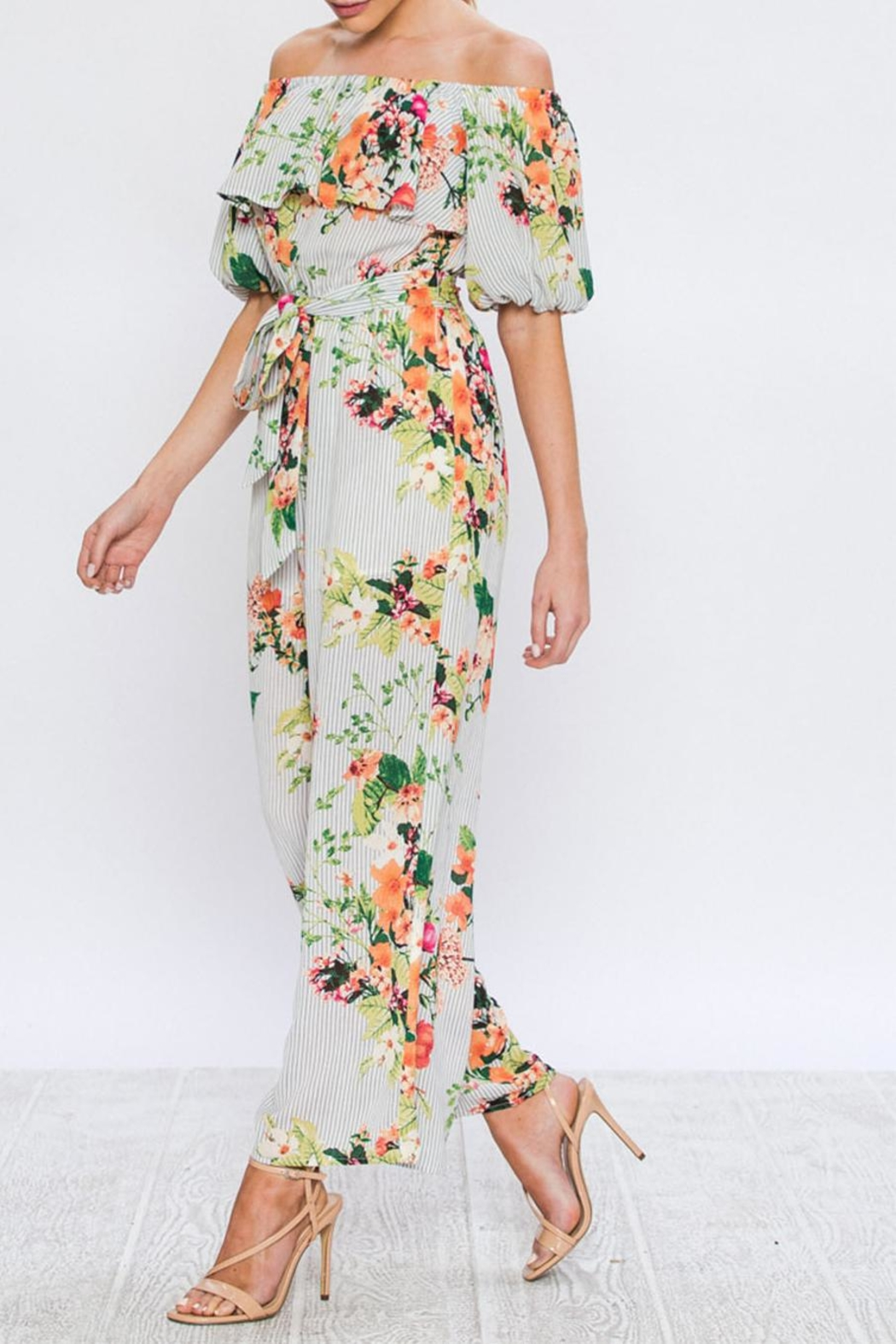 c8e6ae5751f1 Jealous Tomato Floral Print Jumpsuit from New York by Dor L Dor ...