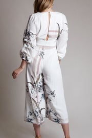 Latiste Floral Print Jumpsuit - Front full body