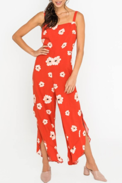 Lush Clothing  Floral Print Jumpsuit - Product List Image