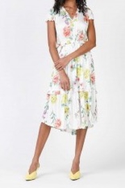 Current Air Floral Print Midi Dress - Front cropped