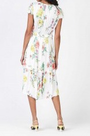 Current Air Floral Print Midi Dress - Front full body