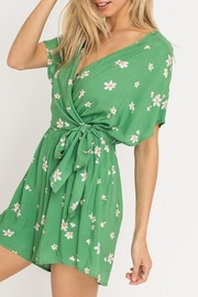 Lush Clothing  Floral Print Romper - Product Mini Image