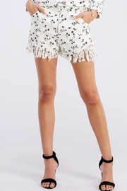 Wild Honey Floral Print Shorts - Front cropped