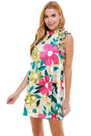 TCEC Floral Print Swing Dress - Other