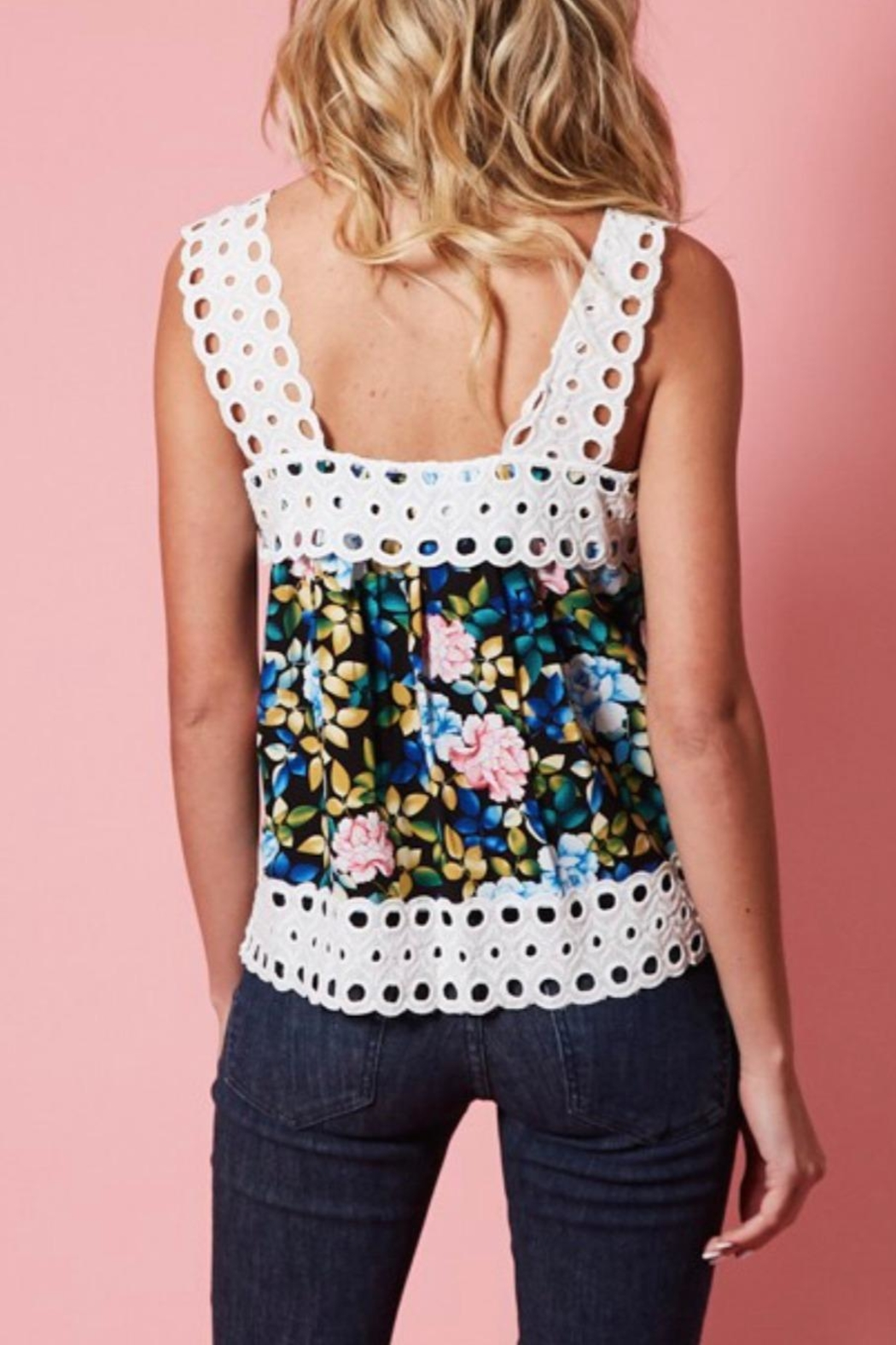 Available Floral Print Tank - Side Cropped Image