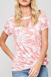 Promesa USA Floral Print Tee - Front full body