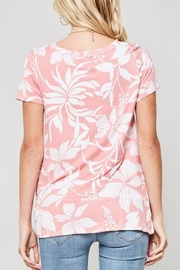 Promesa USA Floral Print Tee - Side cropped