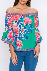 Flying Tomato Floral print top - Product Mini Image