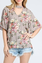 Jodifl Floral Print Top - Product Mini Image