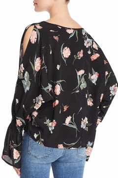 Red Haute Floral Print Top - Alternate List Image