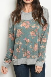 CY Fashion Floral Print Top - Product Mini Image