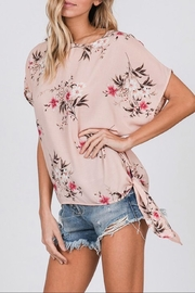 CY Fashion Floral Print Top - Back cropped