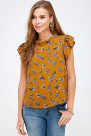 WESTMOON Floral Print Top - Product Mini Image