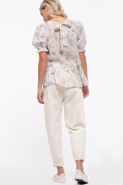 blu Pepper  Floral Print Woven Top - Other