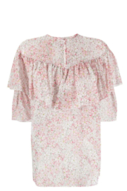 Giambattista Valli FLORAL PRINTED BLOUSE - Back cropped