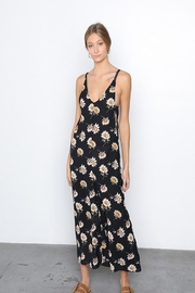 Grade and Gather Floral Printed Jumpsuit - Product Mini Image
