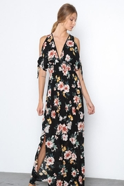 Grade and Gather Floral Printed Maxi-Dress - Product Mini Image