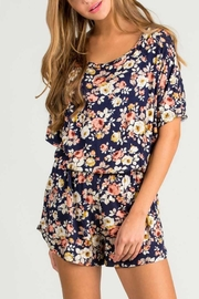 ee:some Floral Printed Romper - Product Mini Image