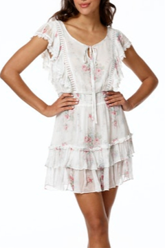 Stellah Floral Printed Ruffle Dress - Product List Image