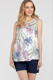 Tribal Floral printed top - Product Mini Image