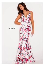 Jovani Floral Prom Gown - Product Mini Image