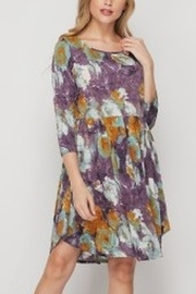honeyme FLORAL PRT DRESS - Product Mini Image