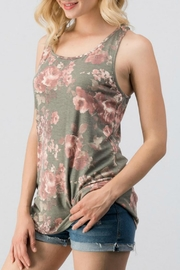 Trend:notes Floral Racer Tank - Product Mini Image