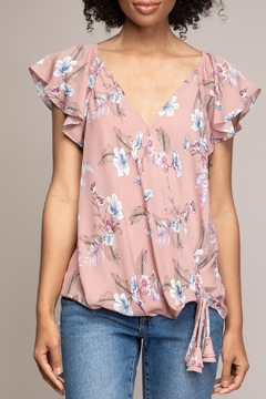 Shoptiques Product: Floral Ragland Top