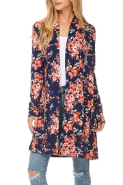 Reborn J Floral Relaxed Cardigan - Product Mini Image