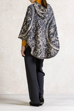 Ivko Floral Reliefs Poncho - Alternate List Image