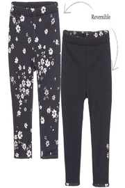 IKKS Floral Reversible Leggings - Front cropped