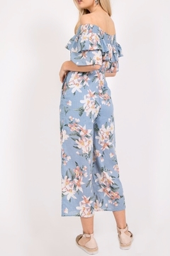 LP80971 Floral Romance jumpsuit - Alternate List Image
