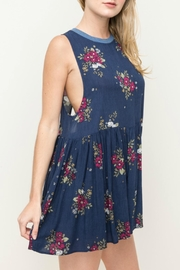 Hem & Thread Floral Romper - Front full body