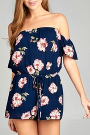Active Basic Floral Romper - Product Mini Image