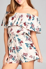 Active USA Floral Romper - Product Mini Image