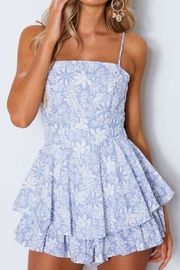 Chikas Floral Romper - Front cropped