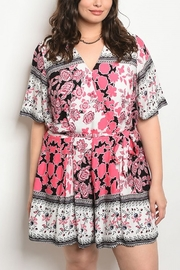 Lyn-Maree's  Floral Romper - Product Mini Image