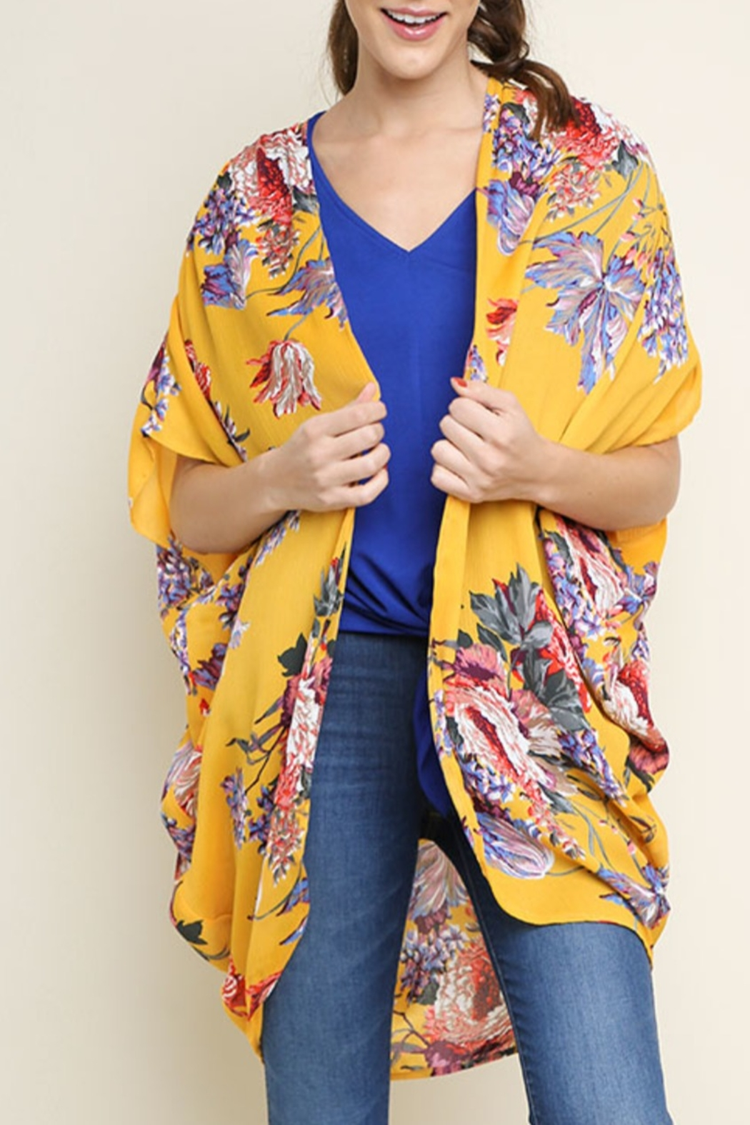 2a70ca323f3f Umgee Floral Royalty kimono from Mississippi by Exit 16 ...