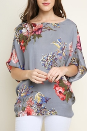 Umgee Floral Royalty Top - Product Mini Image