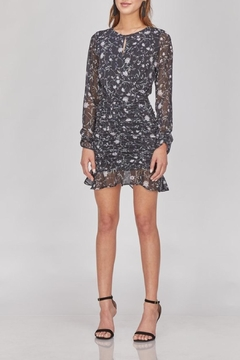 Greylin Floral Ruched Dress - Product List Image