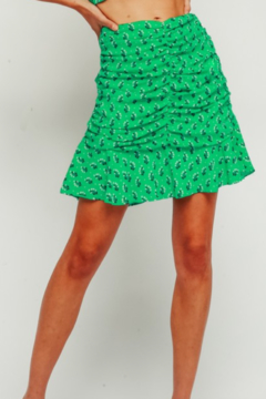 Shoptiques Product: Floral Ruched Skirt