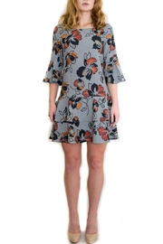 Isle Apparel Floral Ruffle Dress - Product Mini Image