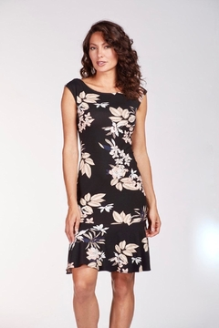 Frank Lyman Floral Ruffle Dress - Product List Image