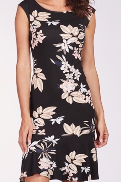 Frank Lyman Floral Ruffle Dress - Alternate List Image